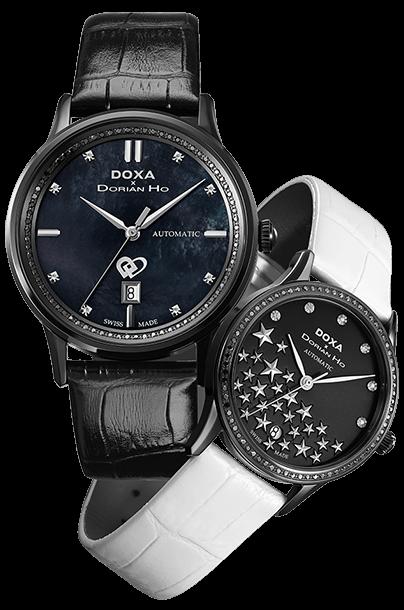 DOXA x Dorian Ho「爱情四部曲」时计系列
